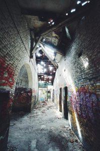Ruines Parc des Oblats