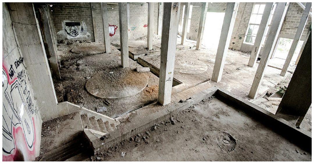 Papierfabriek De Naeyer vervallen constructies