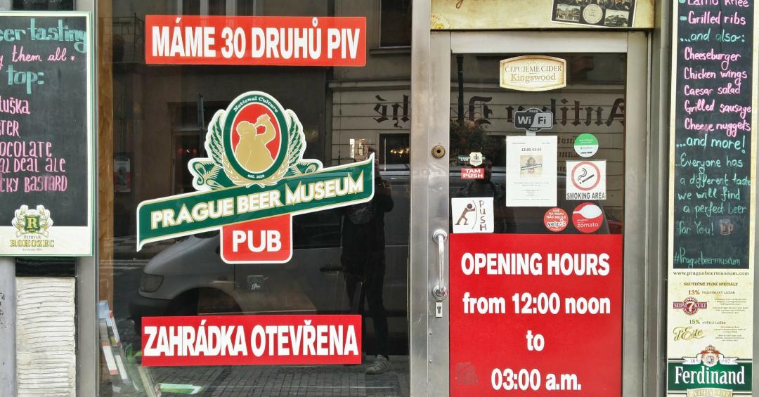 Prague Beer Museum: geen echt museum maar wel de moeite
