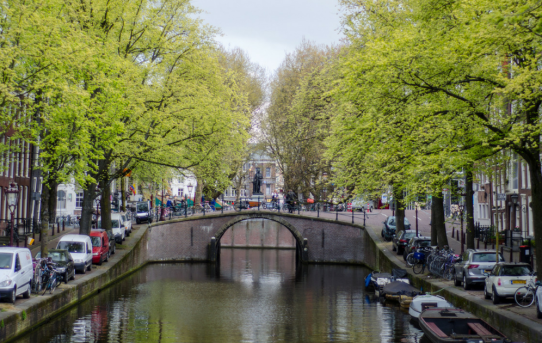 The bridges of Amsterdam: A classic view of the Dutch capital