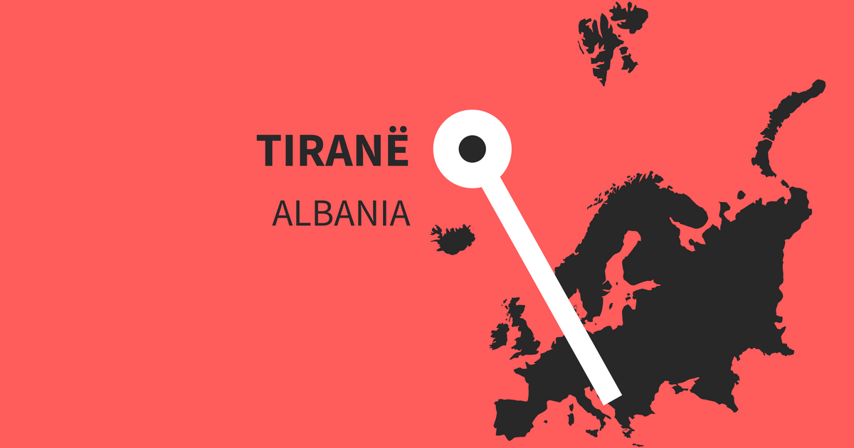 Must visit and important Instagram hashtags for Tiranë in Albania