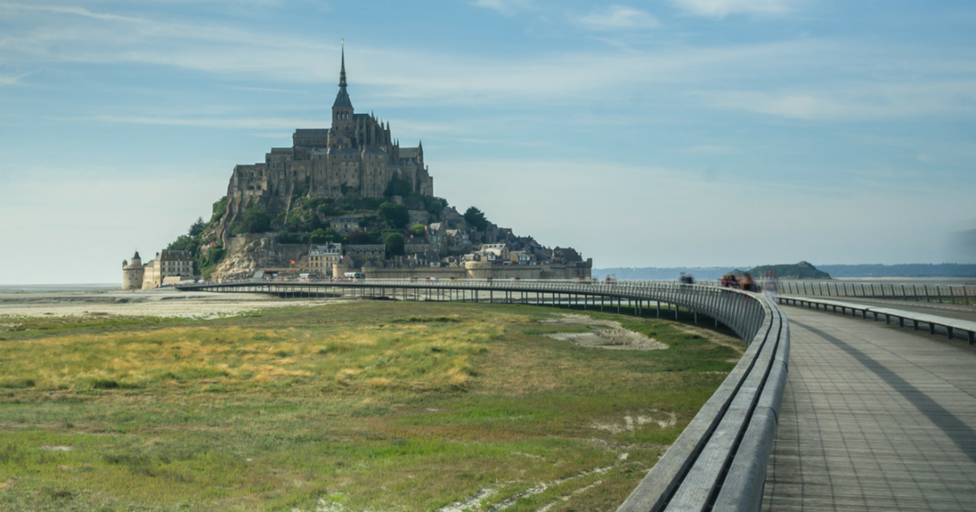 The Mont-Saint-Michel: City in the sea