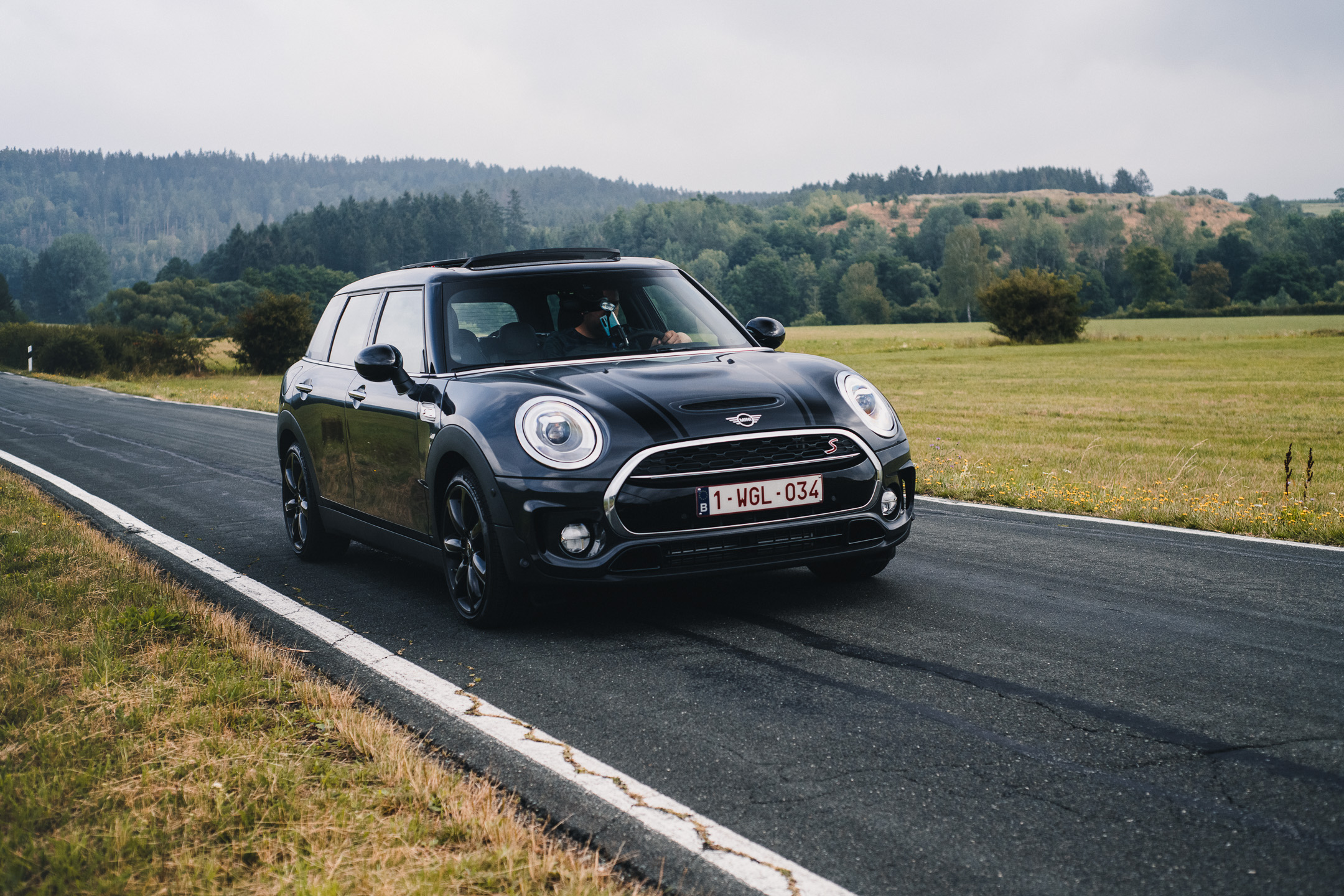 Road trip in Nordhrein Westfalen with a Mini Clubman S